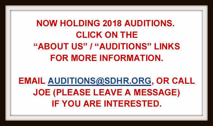2018 Auditions